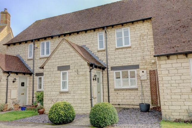 Thumbnail Terraced house for sale in Birch Drive, Bradwell Village, Burford