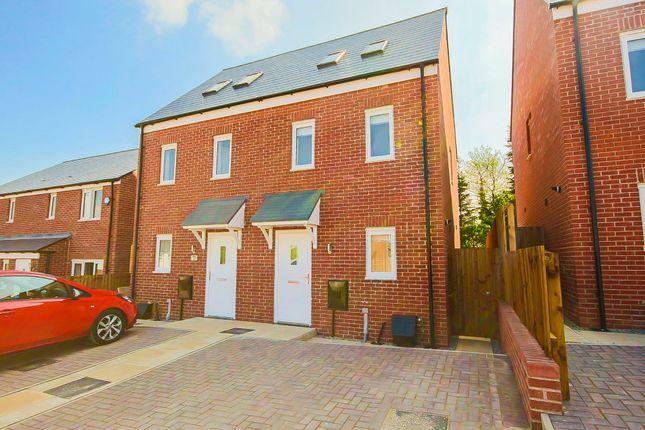 Thumbnail Semi-detached house to rent in Hambledon Mill Park, Accrington