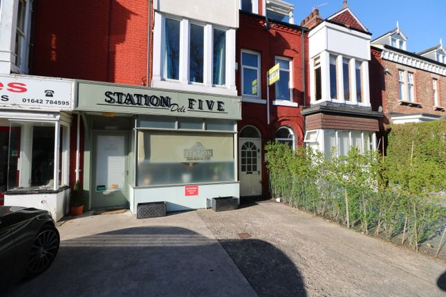 Thumbnail Flat to rent in Station Road, Eaglescliffe, Stockton - On - Tees