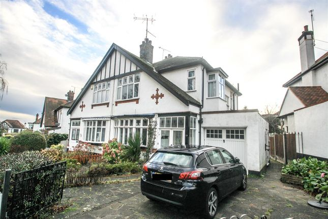 Thumbnail Semi-detached house for sale in Mount Avenue, Westcliff-On-Sea