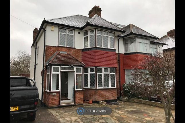 Thumbnail Semi-detached house to rent in Westpole Avenue, Cockfosters, Barnet