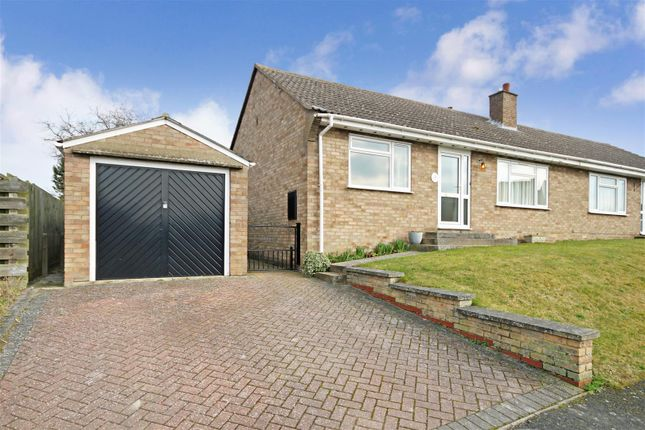 Thumbnail Semi-detached bungalow to rent in Tothill Road, Swaffham Prior, Cambridge