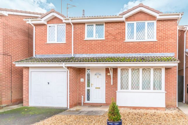 Thumbnail Detached house for sale in Woodhead Close, Stamford
