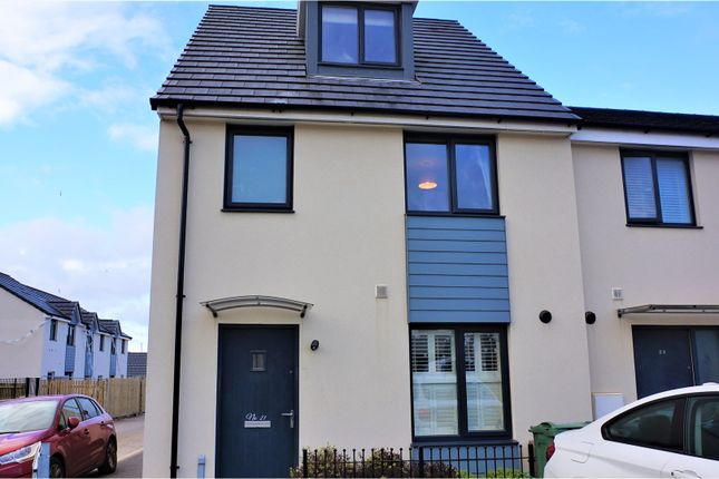 Thumbnail End terrace house for sale in Pennycross Close, Plymouth