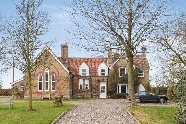 Thumbnail Detached house for sale in East Walton, King's Lynn