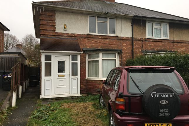 Thumbnail Semi-detached house for sale in Tottenham Crescent, Kingstanding, Birmingham
