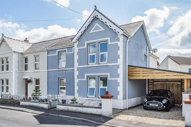 Thumbnail Semi-detached house for sale in Heol Brown, Tycroes, Ammanford