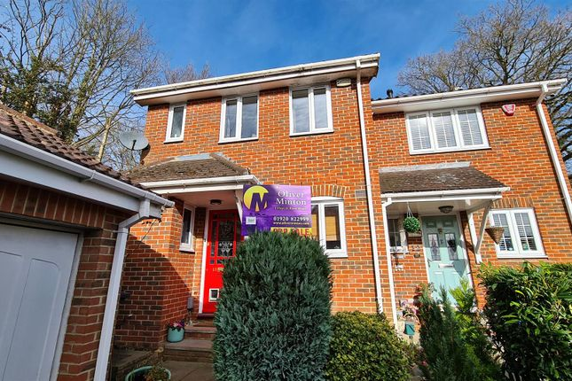 Thumbnail Semi-detached house for sale in Huntsman Close, Puckeridge, Herts