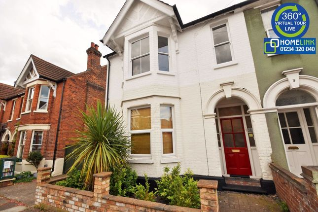 Thumbnail Semi-detached house to rent in Richmond Road, Bedford
