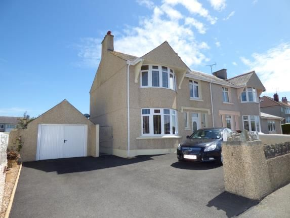Thumbnail Semi-detached house for sale in Walthew Avenue, Holyhead, Sir Ynys Mon
