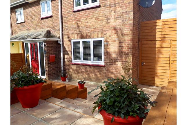 Thumbnail Semi-detached house for sale in Miskin Road, Rochester