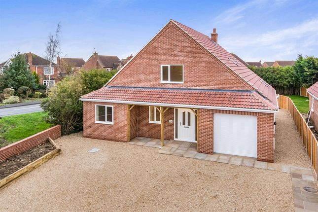 Thumbnail Detached house for sale in Walcott Road, Billinghay, Lincoln