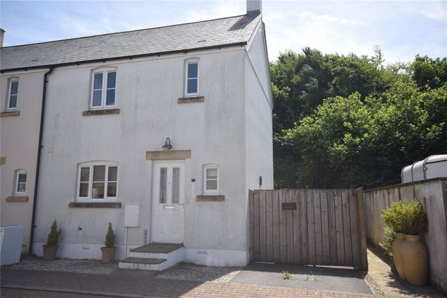 Thumbnail End terrace house to rent in Farriers Green, Camelford