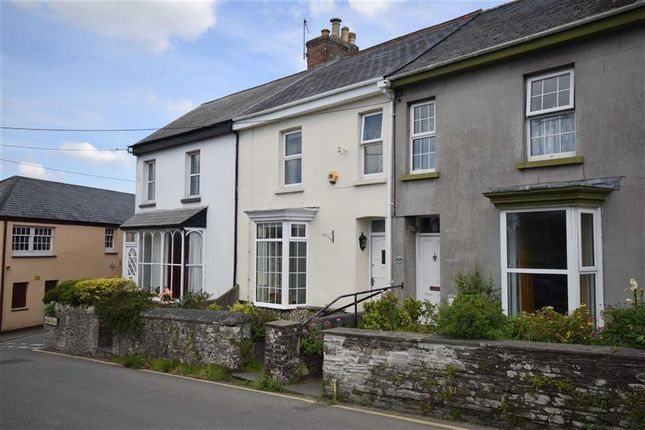 Thumbnail Terraced house for sale in Park Place, Wadebridge