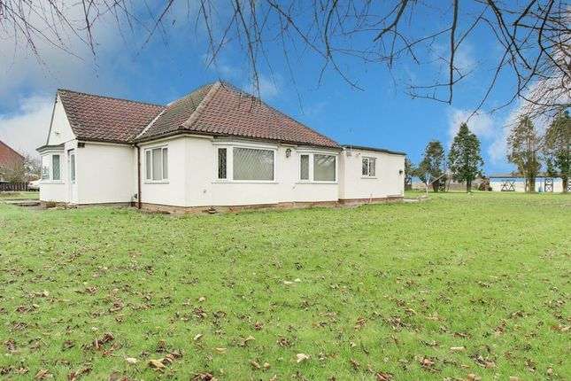 Thumbnail Detached bungalow for sale in Marsh Lane, New Holland, Barrow-Upon-Humber