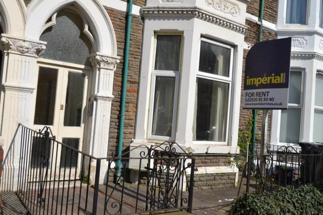 Thumbnail Shared accommodation to rent in 20, Connaught Road, Roath, Cardiff, South Wales