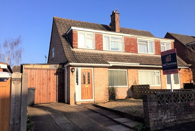 3 bed semi-detached house for sale in Hawthorn Close, Honiton