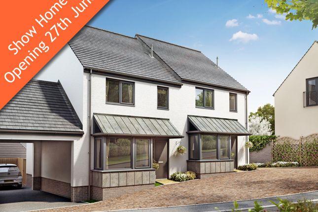 Thumbnail Semi-detached house for sale in Malborough, Near Salcombe, Devon