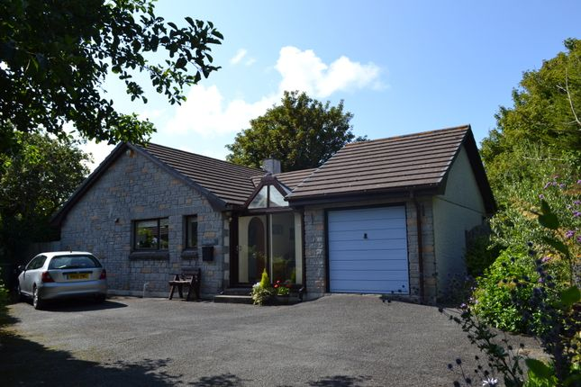 Thumbnail Detached bungalow for sale in The Saltings, Lelant