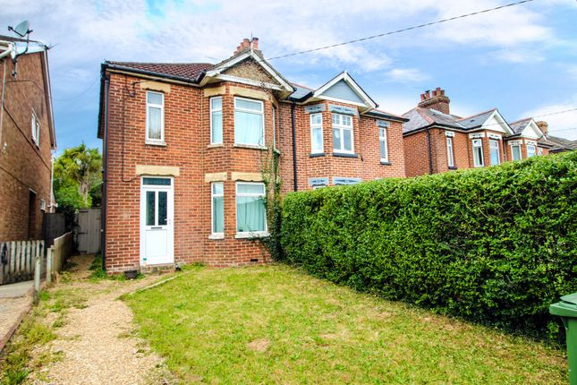 Thumbnail Semi-detached house for sale in Winchester Road, Waltham Chase, Southampton