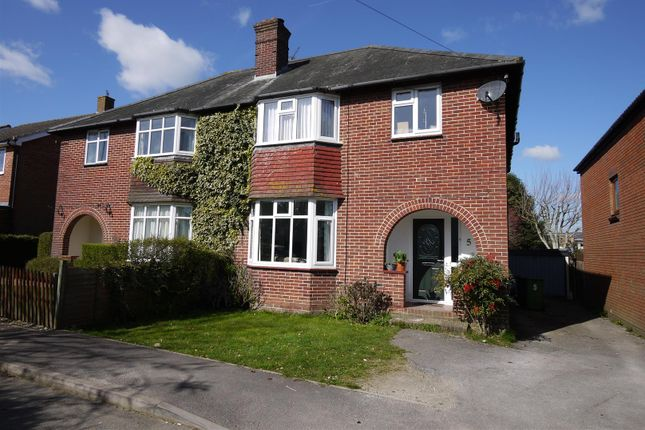 Thumbnail Semi-detached house for sale in The Causeway, Petersfield