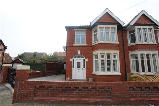 Thumbnail Property To Rent In Chiltern Avenue Blackpool