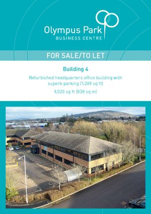Thumbnail Office for sale in Olympus Business Park, Gloucester