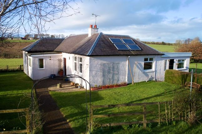 Thumbnail Detached bungalow for sale in Top Cottage, Thornyflat Farm, By Ayr