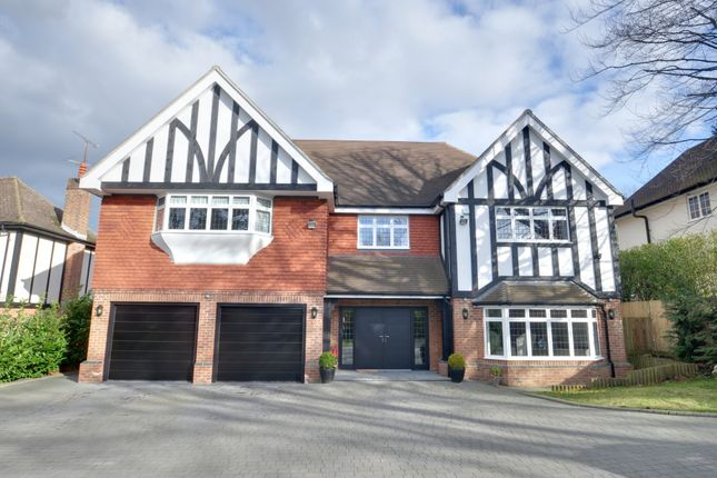 Thumbnail Detached house for sale in Oxenden Wood Road, Chelsfield, Orpington