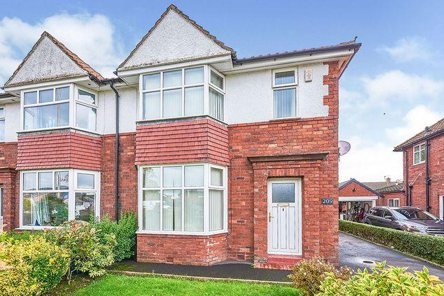 Thumbnail Semi-detached house for sale in Wigton Road, Carlisle, Cumbria