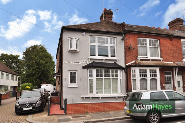 Thumbnail End terrace house for sale in Percy Road, North Finchley