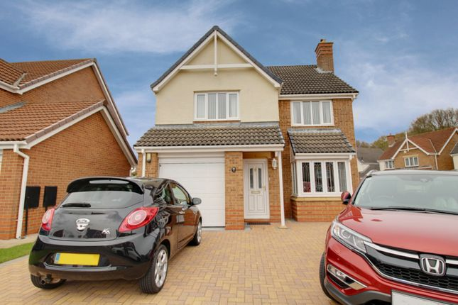 Thumbnail Detached house for sale in Carwardine Close, Newton Aycliffe, Durham