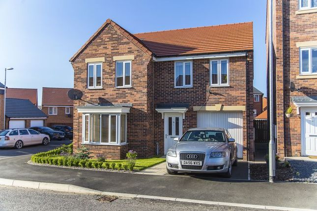 Thumbnail Detached house for sale in Font Drive, Blyth