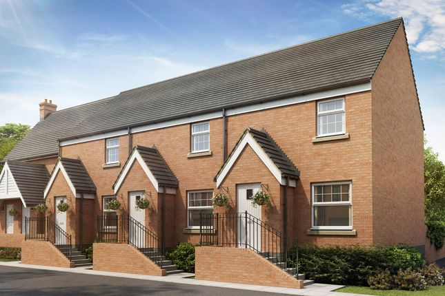 "Thumbnail Semi-detached house for sale in ""Newton"" at Bevans Lane, Pontrhydyrun, Cwmbran"