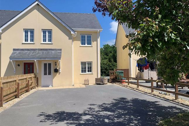 Thumbnail Semi-detached house for sale in Bro Mydyr, Mydroilyn, Lampeter
