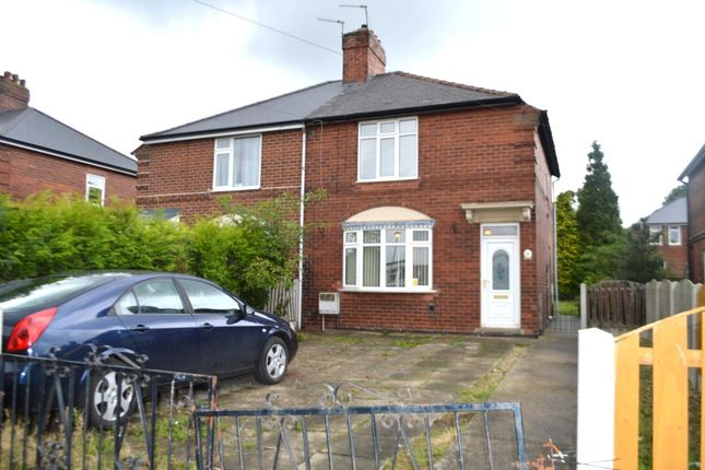 Thumbnail Semi-detached house for sale in Favell Avenue, Normanton
