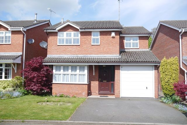 Thumbnail Detached house to rent in Willows Close, Wistaston, Crewe, Cheshire