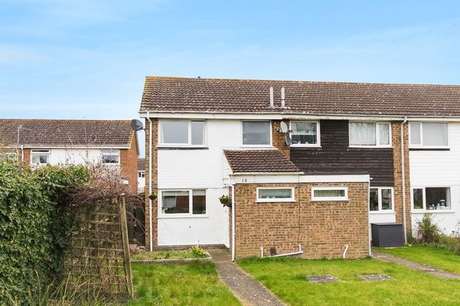 Thumbnail End terrace house for sale in Broadmarsh Close, Grove, Wantage