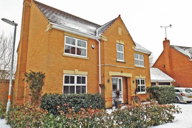 Thumbnail Detached house for sale in Samwell Way, Northampton