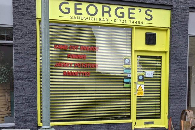 Thumbnail Retail premises to let in St Austell, Cornwall