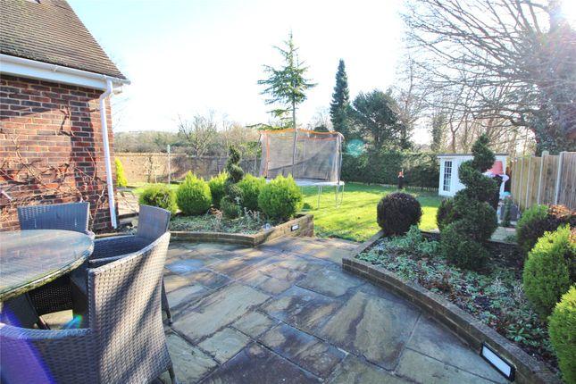 Garden of Cross Lane, Findon Village, Worthing, West Sussex BN14