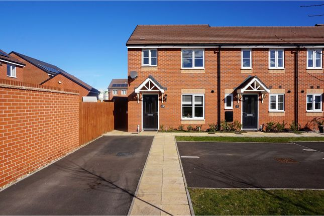 Thumbnail End terrace house for sale in Asheridge Close, Wolverhampton