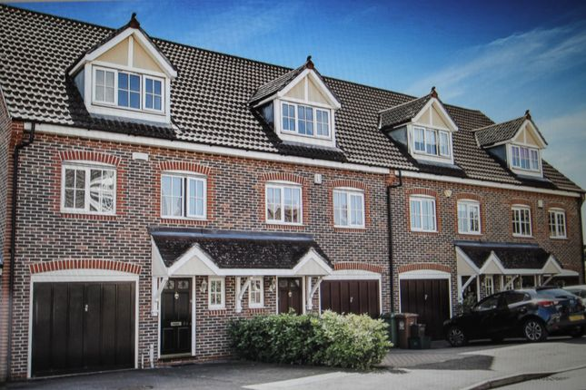 Thumbnail Town house for sale in Sandpiper Road, Cheam, Sutton, Surrey