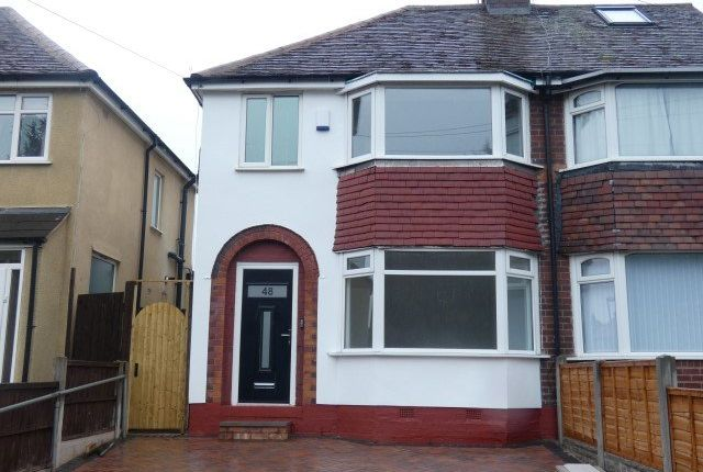 Thumbnail Semi-detached house for sale in Edgemond Avenue, Erdington, Birmingham