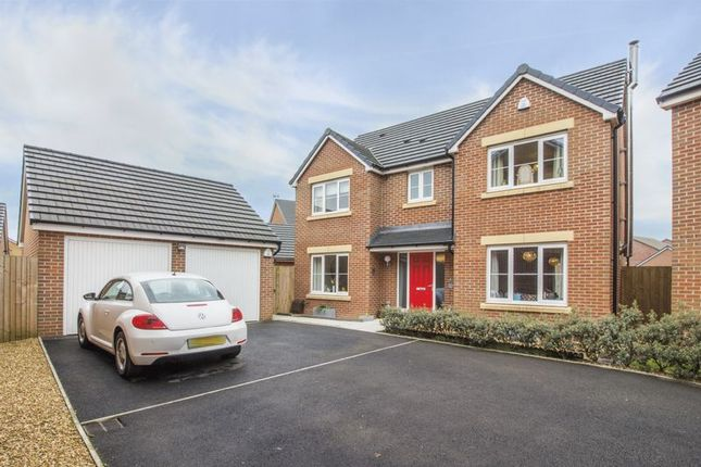 Thumbnail Detached house for sale in Obama Grove, Rogerstone, Newport