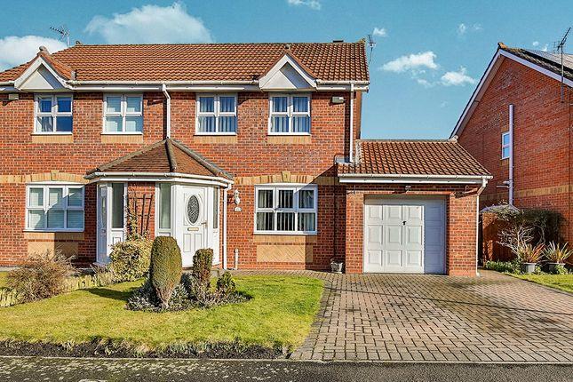 Thumbnail Semi-detached house to rent in Thornton Lea, Pelton, Chester Le Street