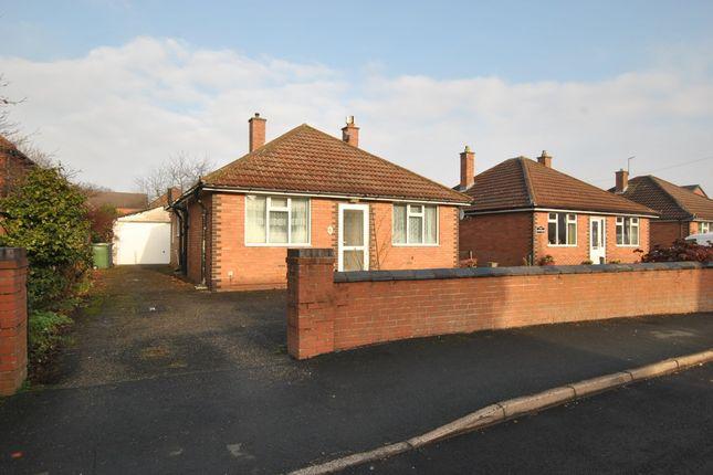 Thumbnail Detached bungalow for sale in Ladycroft, Wellington, Telford, Shropshire