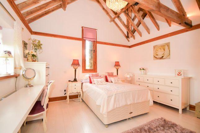 # Master Bedroom of West Barn, Great Cossington Farm, Aylesford ME20