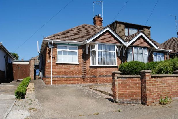 Thumbnail Semi-detached bungalow for sale in Julian Way, Kingsthorpe Village, Northampton