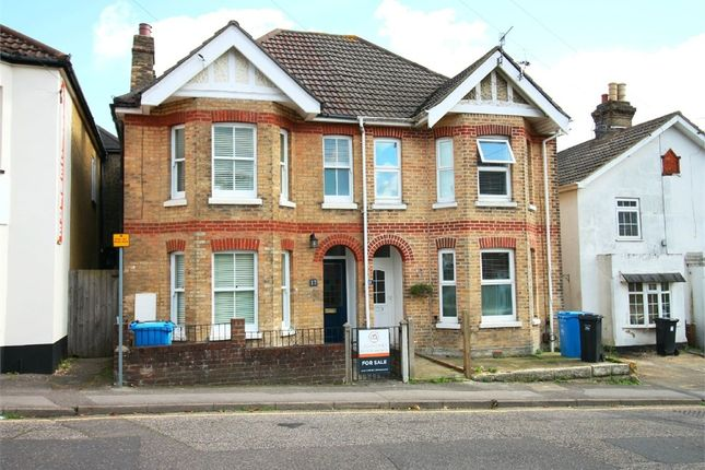 Thumbnail Semi-detached house for sale in Mansfield Road, Lower Parkstone, Poole, Dorset